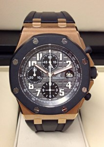 Audemars Piguet replica Royal Oak Offshore Chronograph Rose Gold 25940OK.00.D002CA.01.A gommino old style6