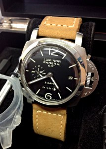 Panerai replica Luminor 1950 PAM00233 8 Days GMT 44mm