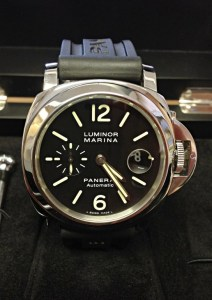 Panerai replica Luminor Marina 44mm PAM00104 orologio copia3