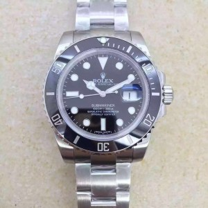 REPLICA ROLEX BLACK SUBMARINER 116610 LN V6S SUPER COPY WITH 3135 MOVEMENT9