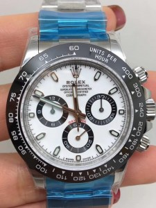 ROLEX DAYTONA REPLICA CERAMICHON WATCHES IN 2018 WITH 4130 FULLY CHRONOGRAPH MOVEMENT WHITE DIAL2