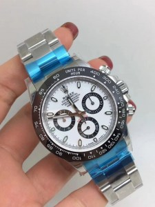 ROLEX DAYTONA REPLICA CERAMICHON WATCHES IN 2018 WITH 4130 FULLY CHRONOGRAPH MOVEMENT WHITE DIAL3