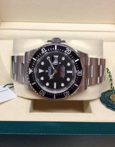 Rolex Sea-Dweller 126600 43mm Red Writing2