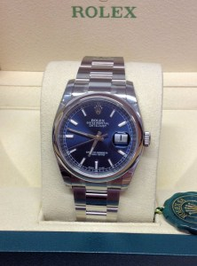 Rolex replica Datejust 116200 36mm Blue Baton3