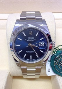 Rolex replica Datejust 41 126300 Blue Dial 6
