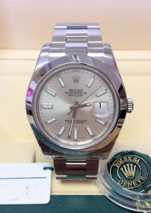 Rolex replica Datejust II 116300 41mm Silver Dial4