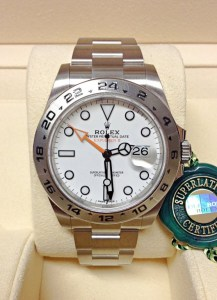 Rolex replica Explorer II 216570 42mm orologio replica4