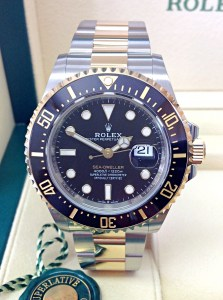 Rolex replica Sea-Dweller 126603 43mm Bi-Colour-4