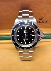 Rolex replica vintage Submariner Non-Date 5513 From 1989 orologio copia3