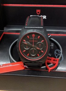 Tudor replica Fastrider Black Shield 70330 42mm Black Dial