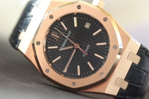 audemars piguet royal oak jumbo pelle rose gold
