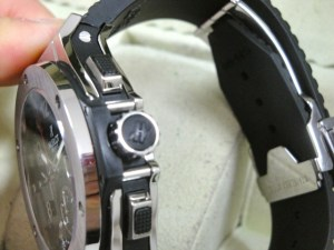 hublot replica big bang ghiera acciaio strip rubber11