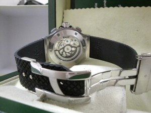 hublot replica big bang ghiera acciaio strip rubber12