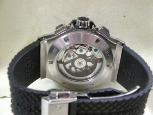 hublot replica big bang ghiera acciaio strip rubber16