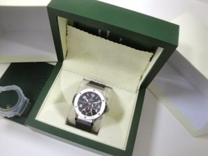 hublot replica big bang ghiera acciaio strip rubber2