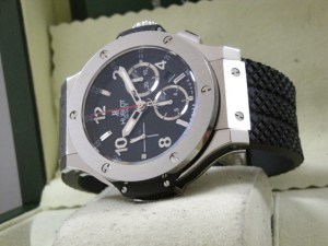 hublot replica big bang ghiera acciaio strip rubber6