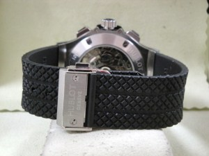 hublot replica big bang ghiera acciaio strip rubber8