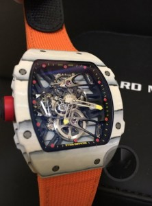 richard mille replica rafa nadal strip nylon orange4