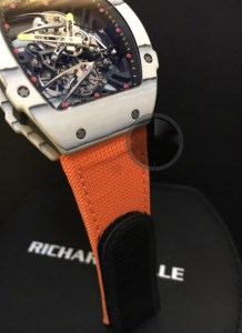 richard mille replica rafa nadal strip nylon orange5